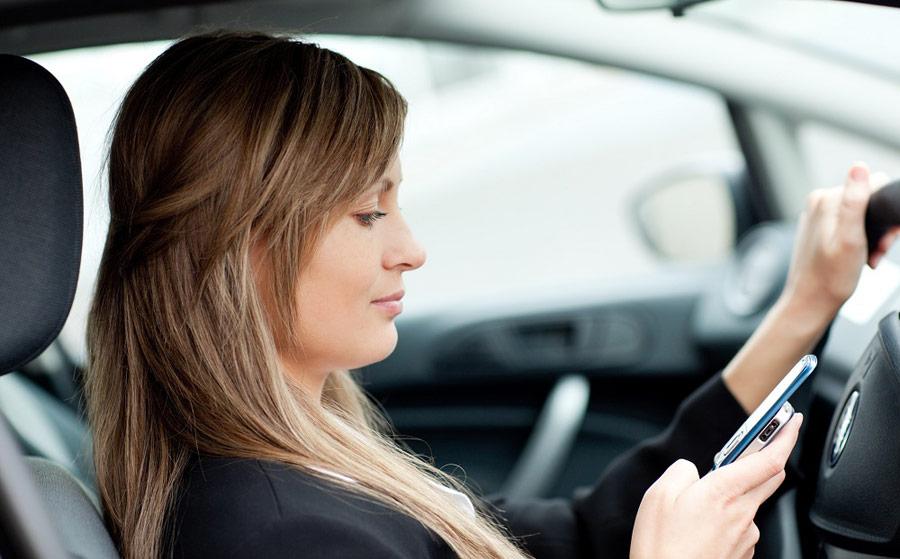 Drivers back blanket block on mobiles