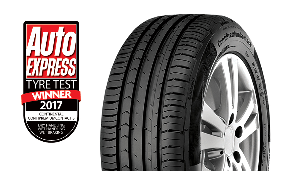 ContiPremiumContact™ 5 wins Auto Express Ultimate Tyre test 2017