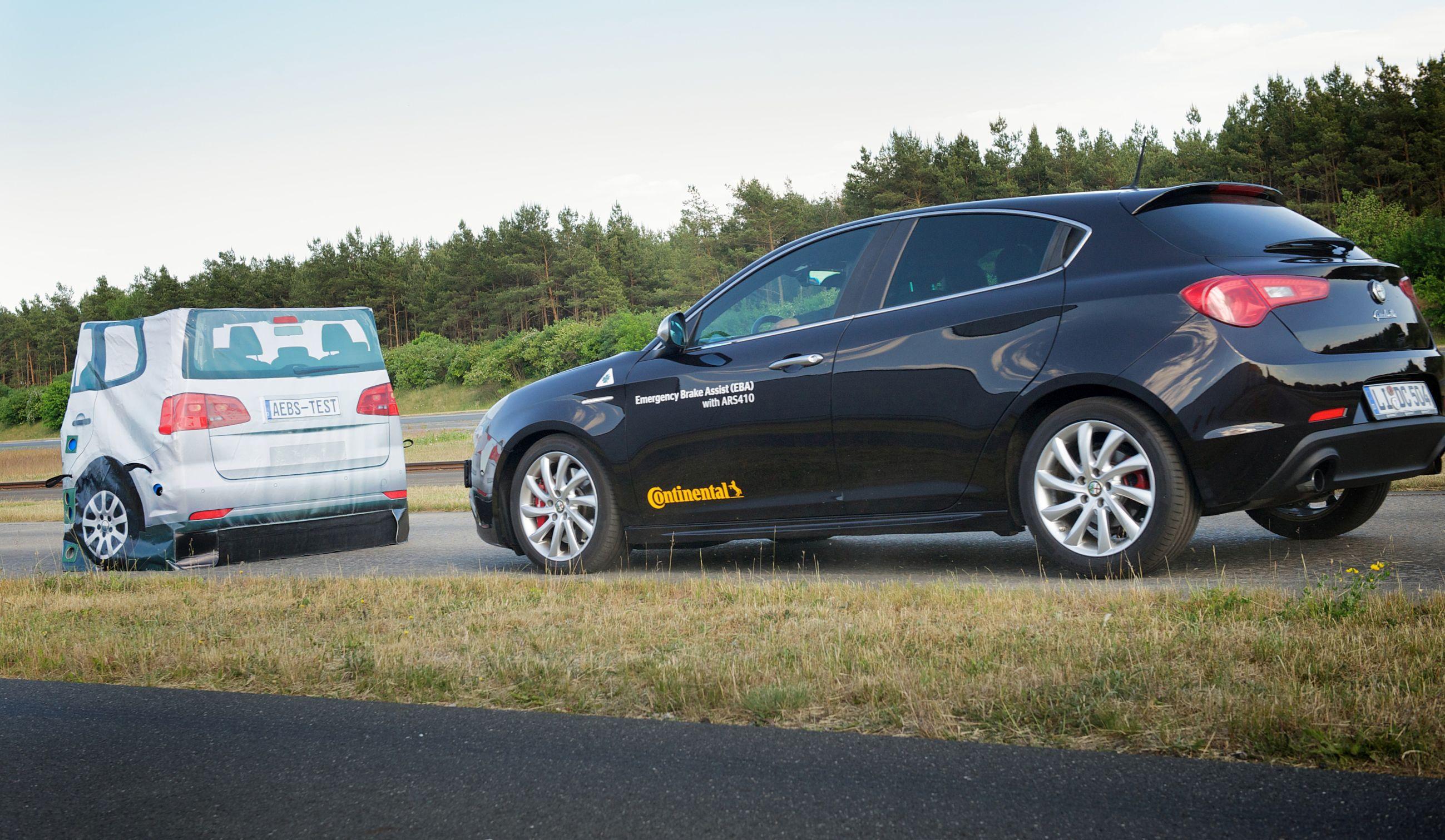 Continental partners Global NCAP 'Stop the Crash' campaign