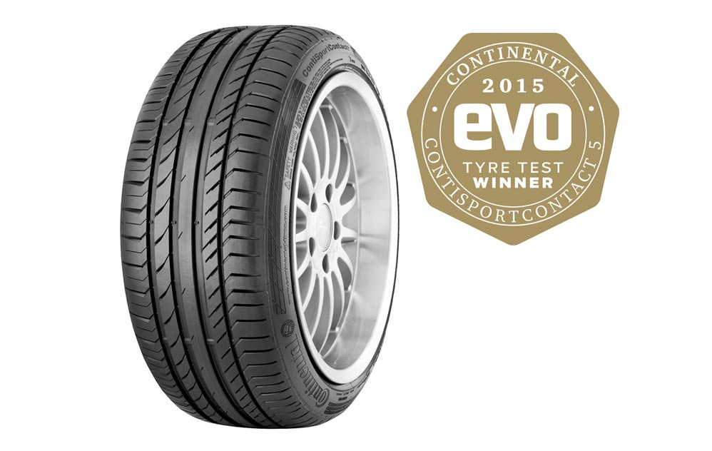 Continental leads 2015 evo summer tyre test