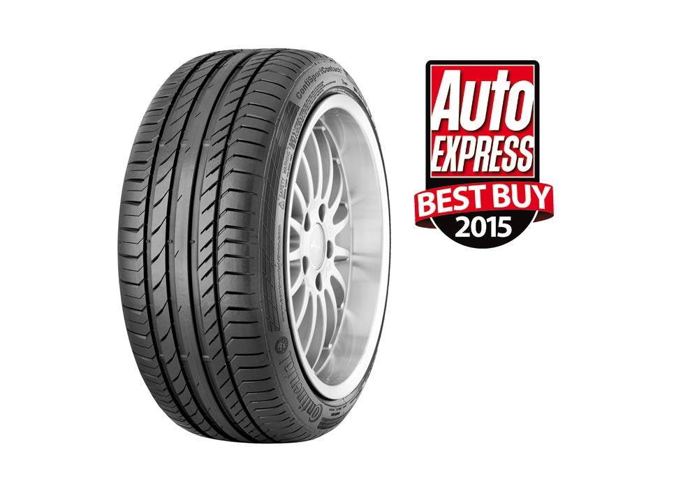 Continental Wins Auto Express Ultimate tyre test 2015