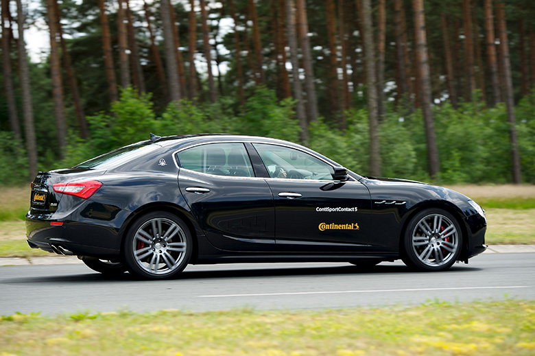 Maserati to equip Ghibli with ContiSportContact 5