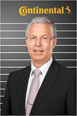 Peter Matzke, a capo del dipartimento OE Truck Tires di Continental