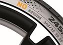 Esempio di pneumatici OE per Porsche.