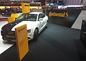 Audi A5 at the Continental booth at the Geneva Motor Show 2015