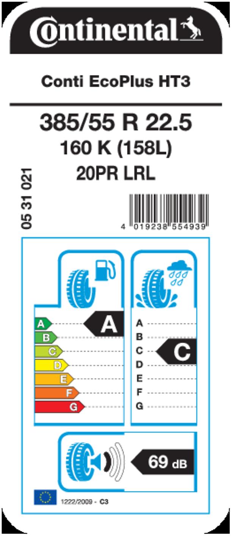 EU Tire Label HT3