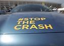 #STOPTHECRASH at London Motor Show