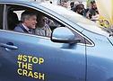 Tiff Needell at #STOPTHECRASH London Motor Show