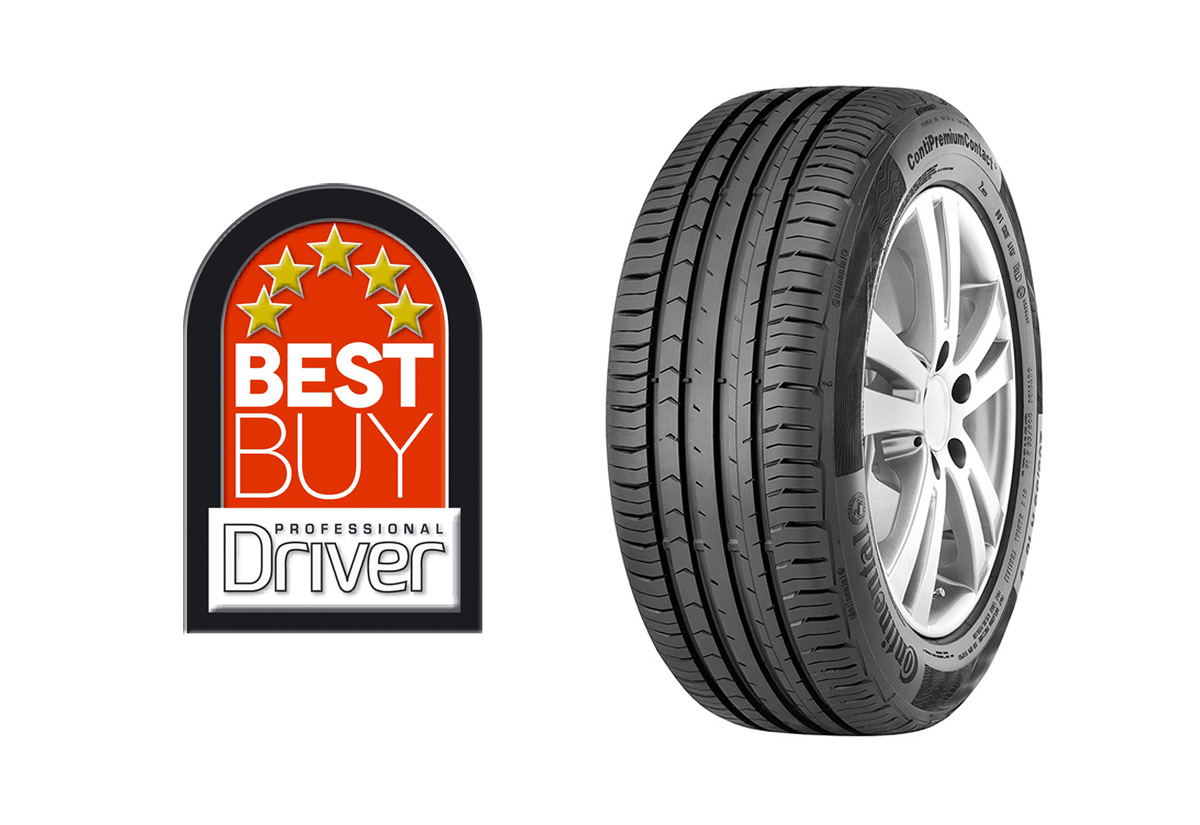 ContiPremiumContact 5 wins Professional Driver Tyre Test