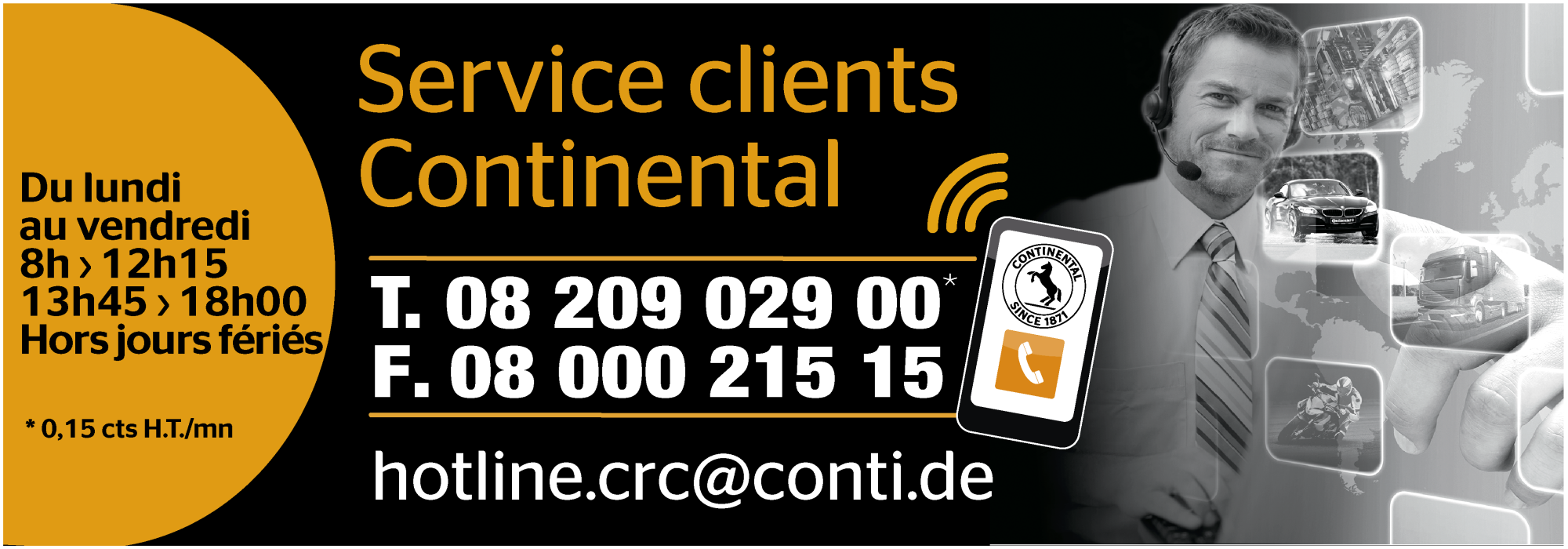 Services Clients Continental