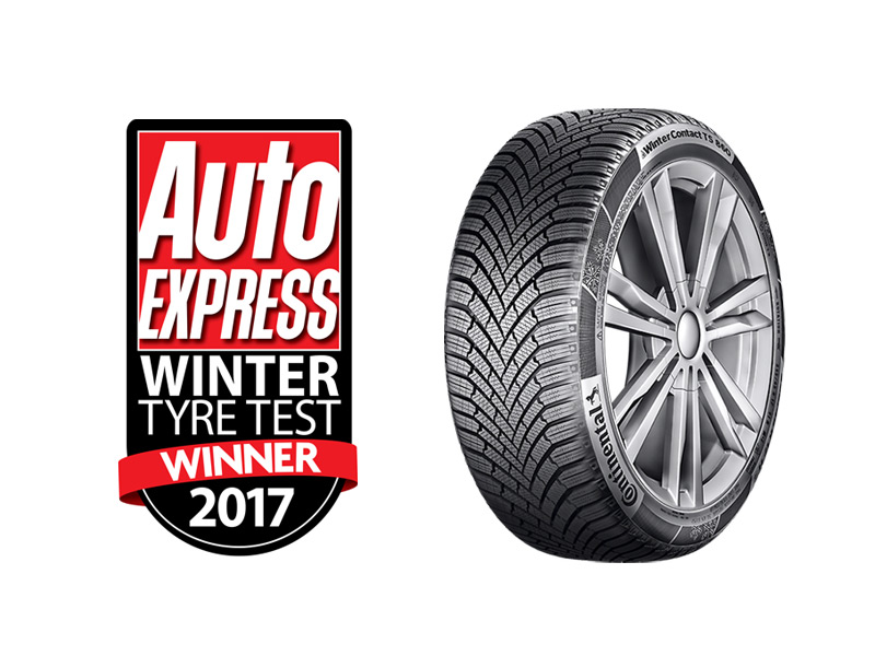 Auto Express winter tyre test winner 2017 - WinterContact TS 860