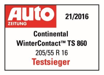 Auto Zeitung – najlepsza opona zimowa 2016r.