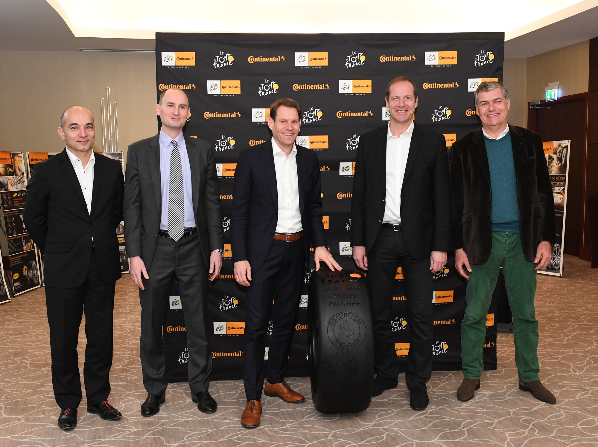 Conti becomes official partner of Tour De France