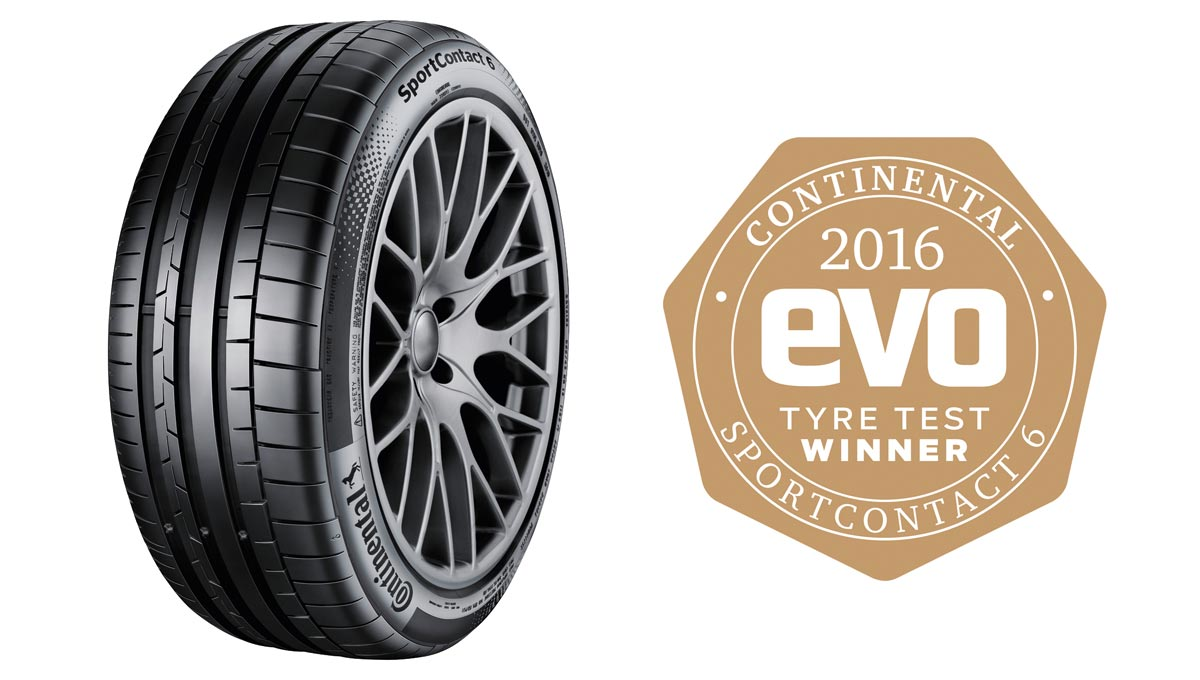 SportContact 6 wins evo award