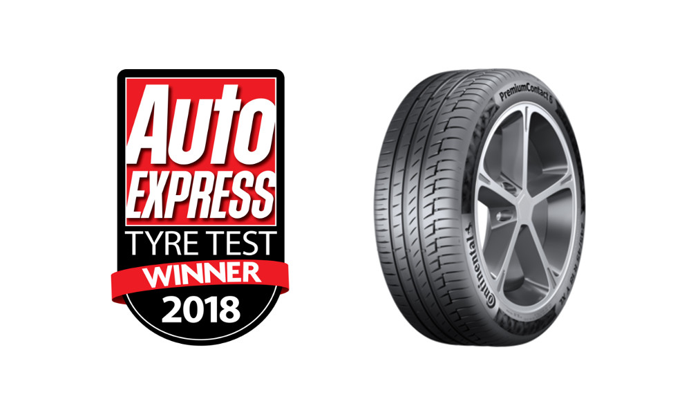 Auto Express Tyre Test 2018 winner