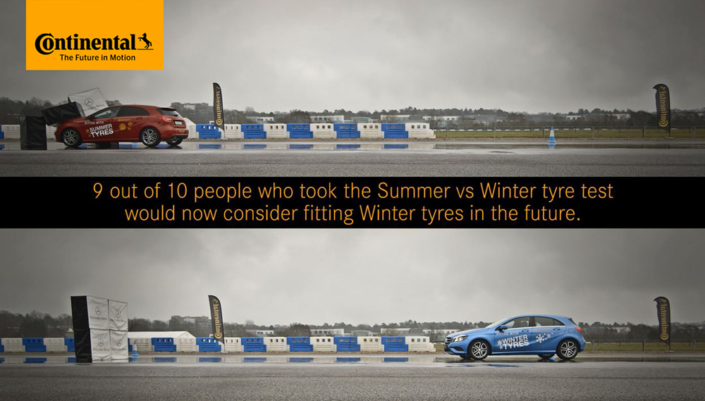 Summer vs Winter Tyre Test image