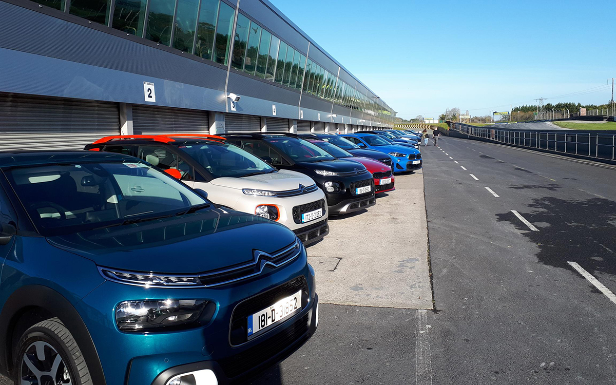 Irish Car of the Year 2019 'Refresher Day' at Mondello Park