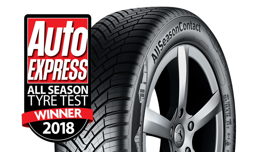 Continental AllSeasonContact™ Auto Express All Season Tyre Winner 2018 image