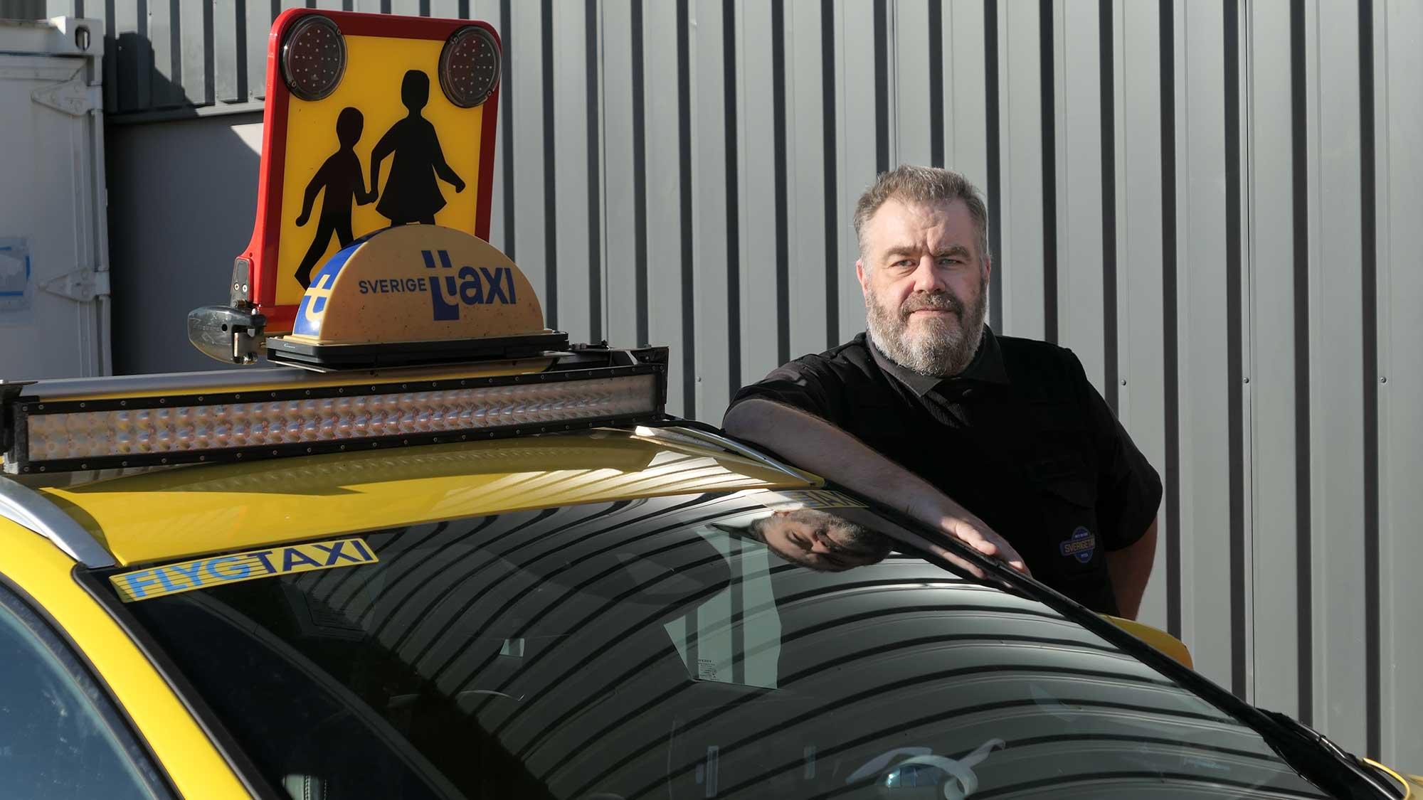 Fredrik Öberg, Pitea Taxi AB Sweden