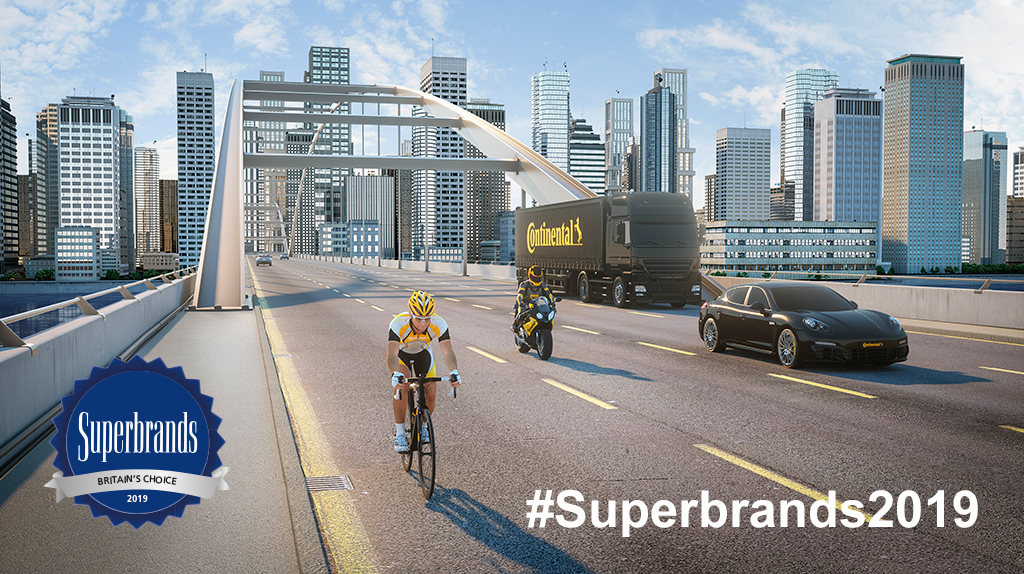 UK consumers vote Continental a 2019 Consumer Superbrand