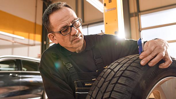 Cura e manutenzione dei pneumatici