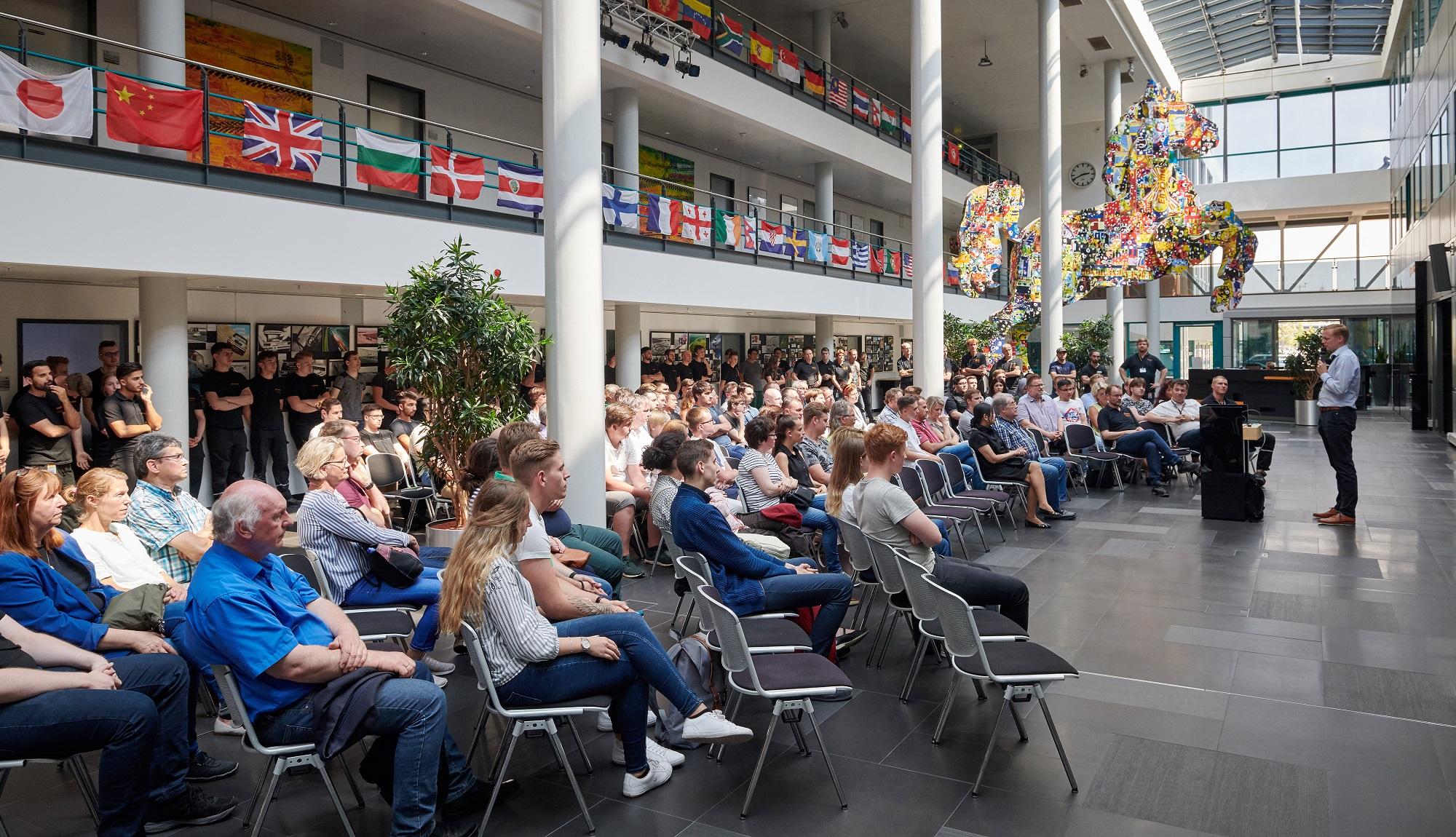 Willkommensreden im Forum der Forschung und Entwicklung