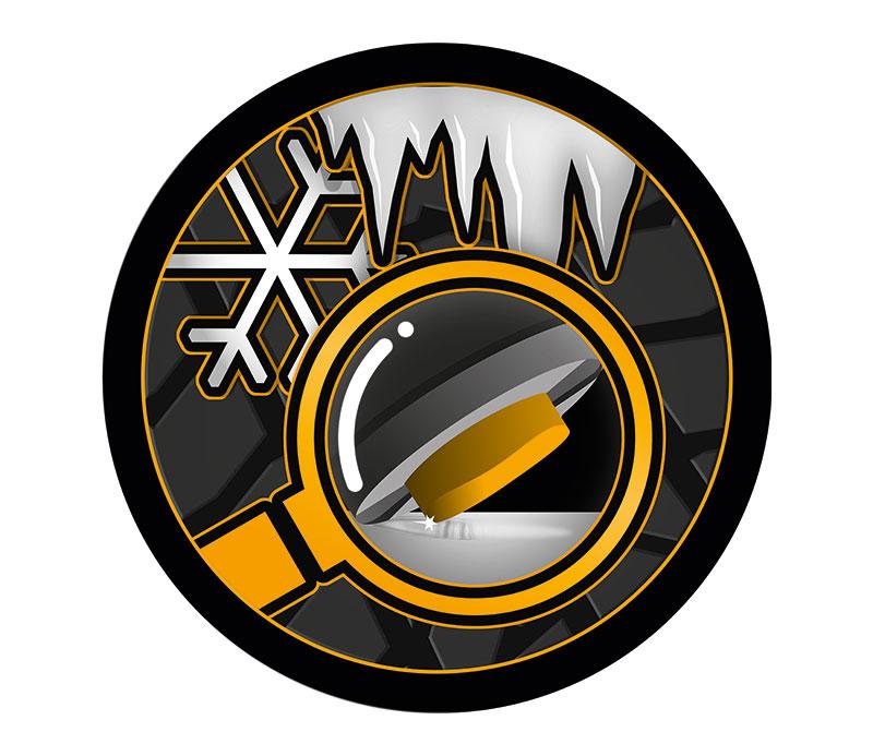 VanContact™ Ice: Hardend stud.