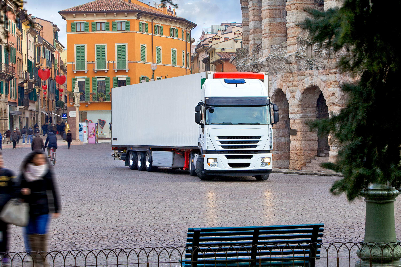 Tra il 2017 e il 2018 il parco circolante di veicoli per trasporto merci è cresciuto dell'1,5%