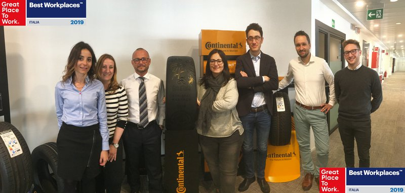 Great Place to Work: Continental Italia premiata.