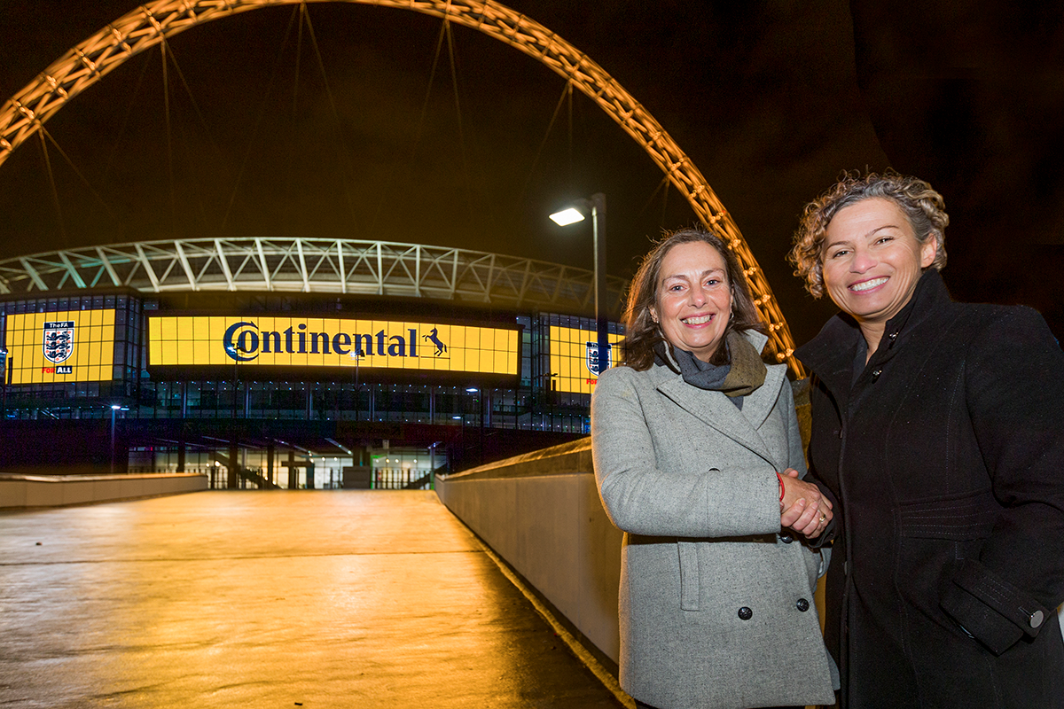 Continental Tyres extend commitment with The FA and Women's Football