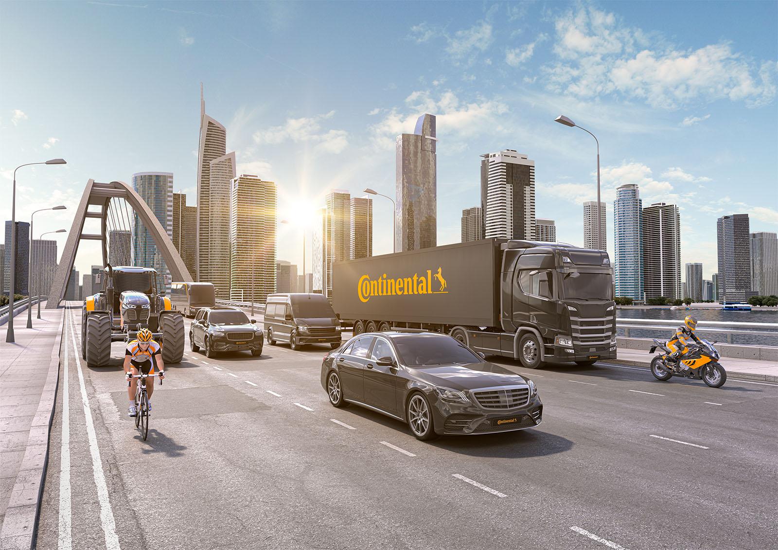 A Continental újrahasznosított ipari kormot fog használni gumiabroncsaihoz