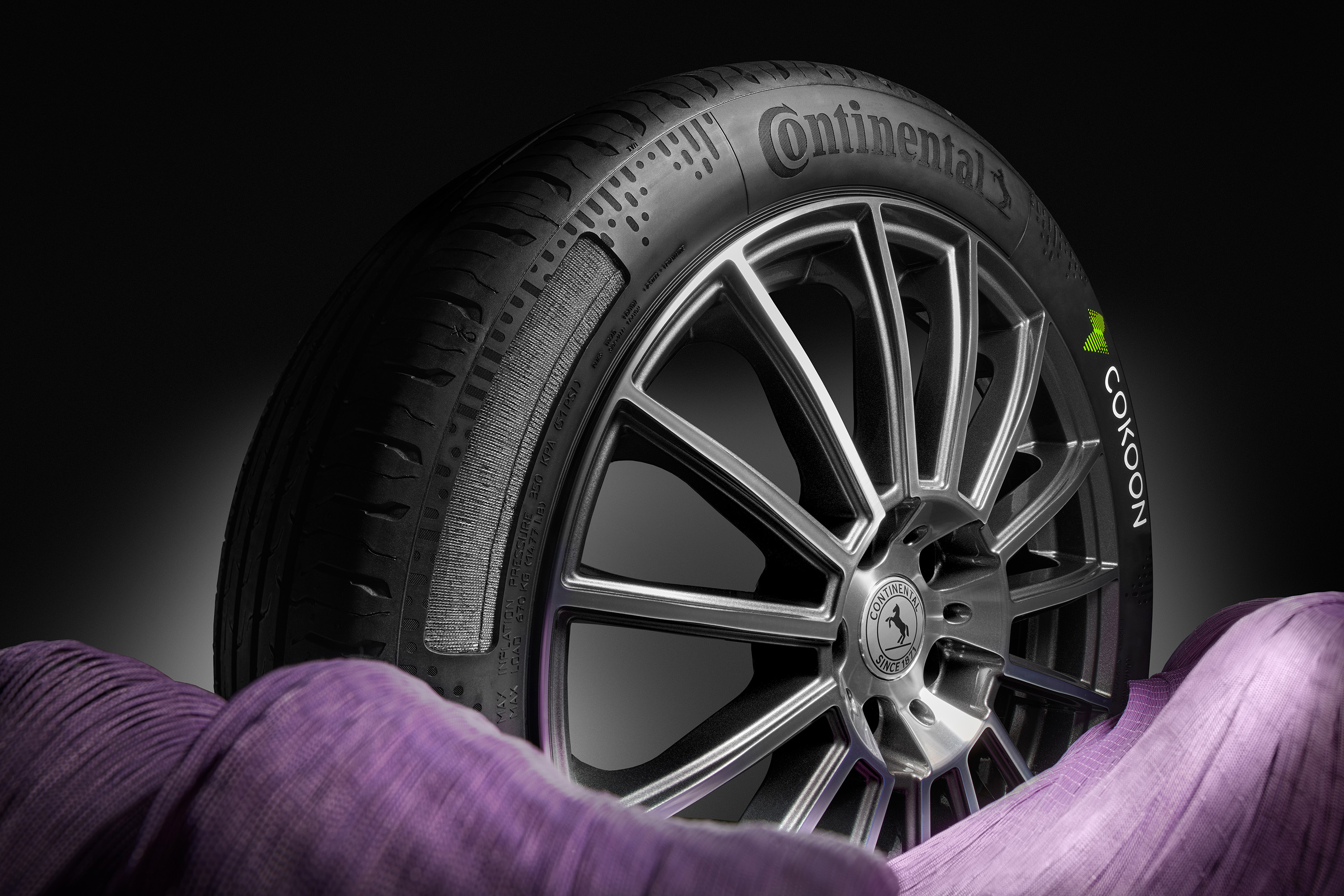 Continental and Kordsa bring first series tyres