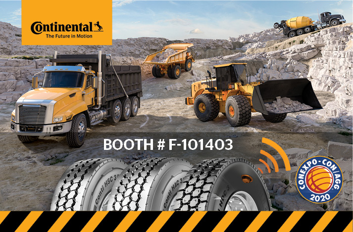 Continental Tire at ConExpo 2020