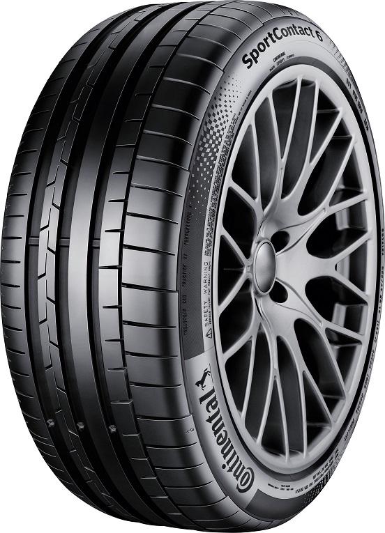 Opona Continental SportContact™ 6 uzyskała najlepszą ocenę w teście opon letnich AutoBild Sportcars