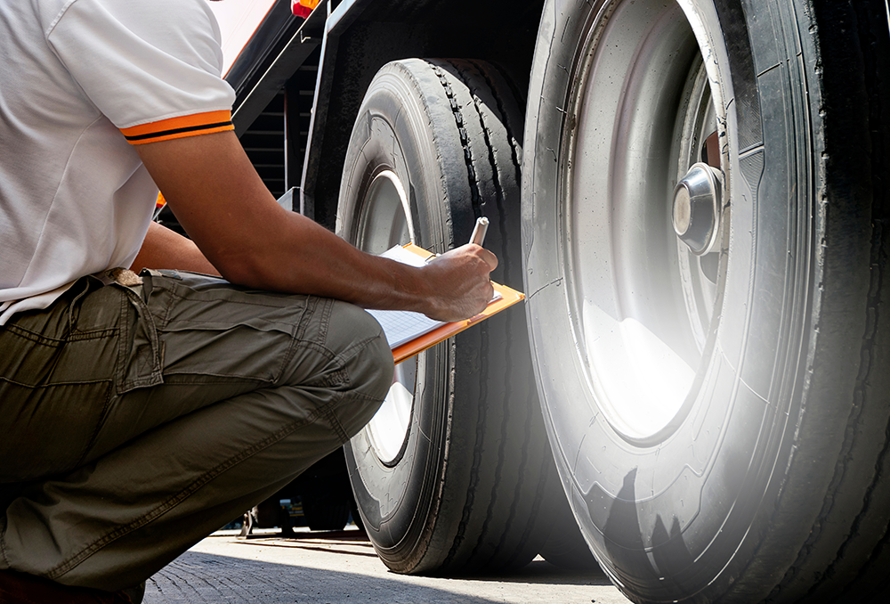 Preventing tyre breakdowns: Driver checks