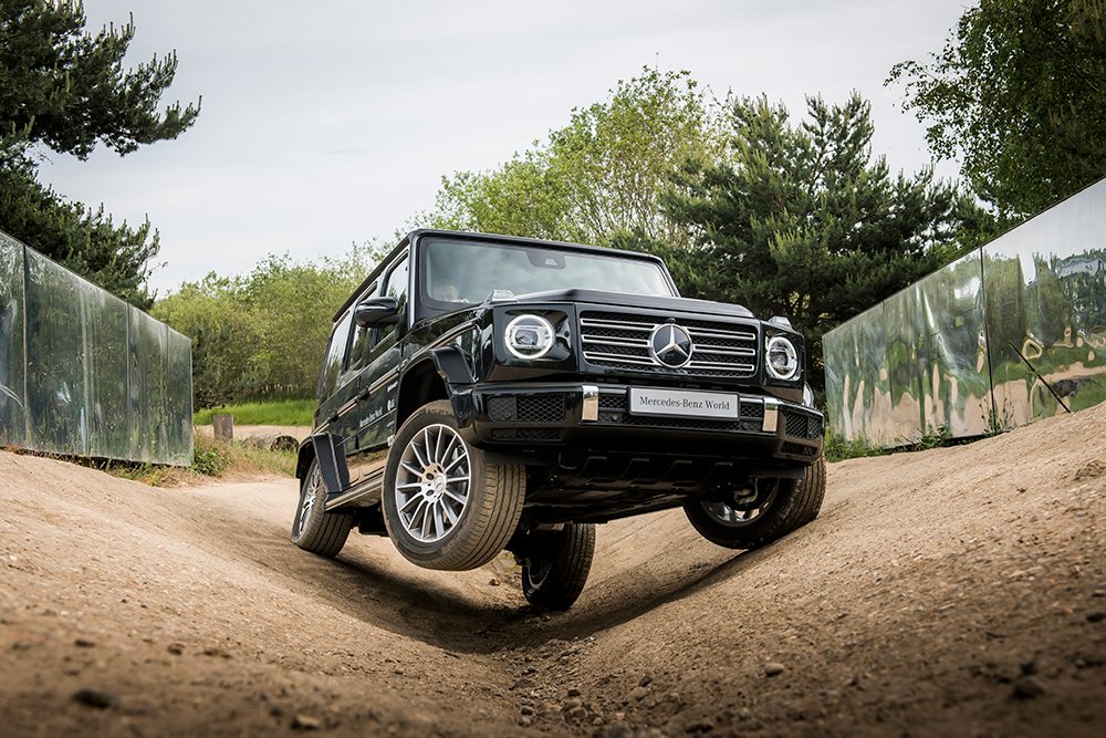 Mercedes-Benz G Wagon with off-road tyres