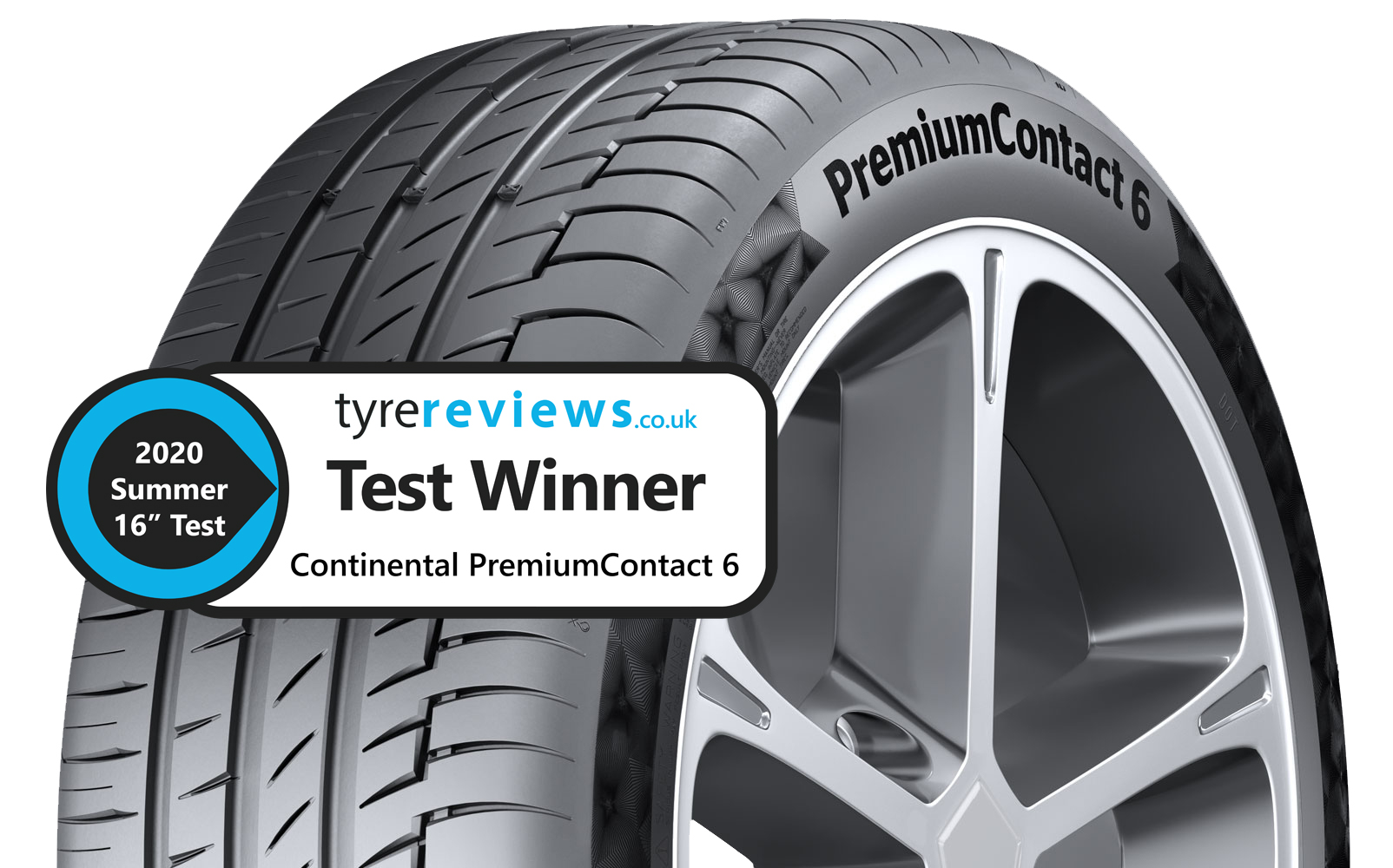 PremiumContact™ 6 wins Tyre Reviews' 2020 Ultimate Summer tyre test