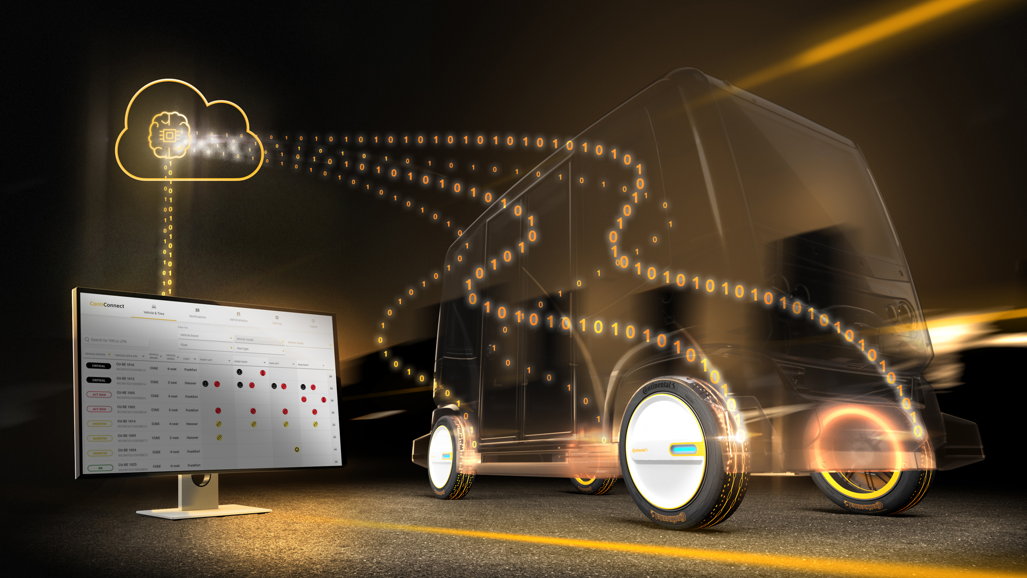 Continental Wins Prestigious Tyre Technology