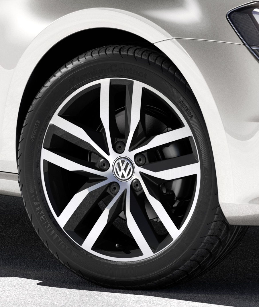 Volkswagen Approves Continental Tyres