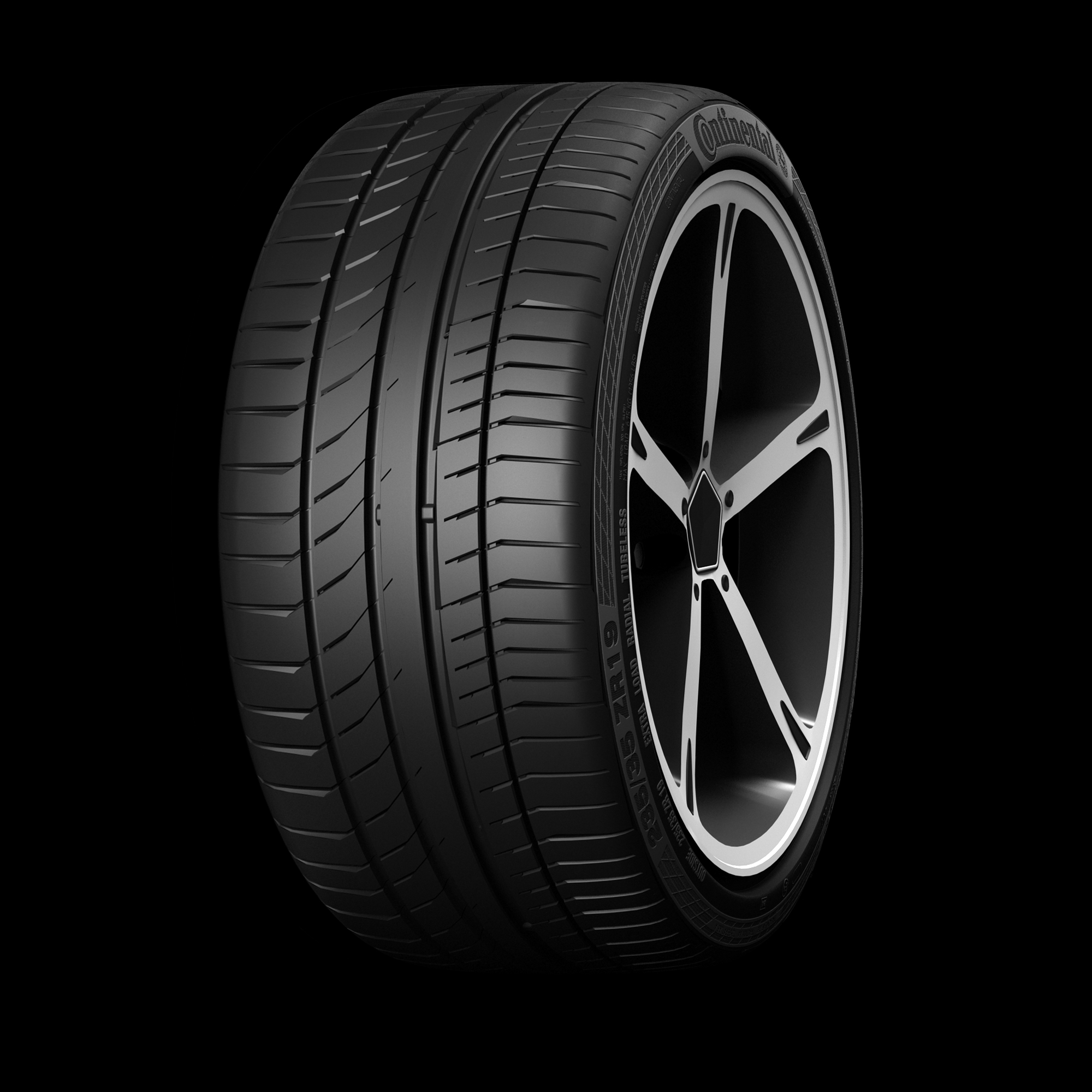 "Maserati to equip Quattroporte with Continental ""MGT"" tyres"