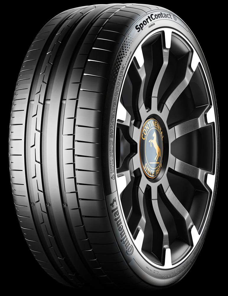 SportContact 6 ultra high-performance tyre