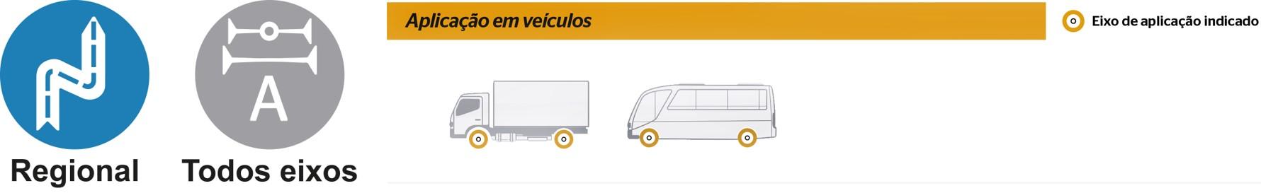 Conti Hybrid LA3: Todos eixos - Mercadoria (Ícones com categorias de uso)