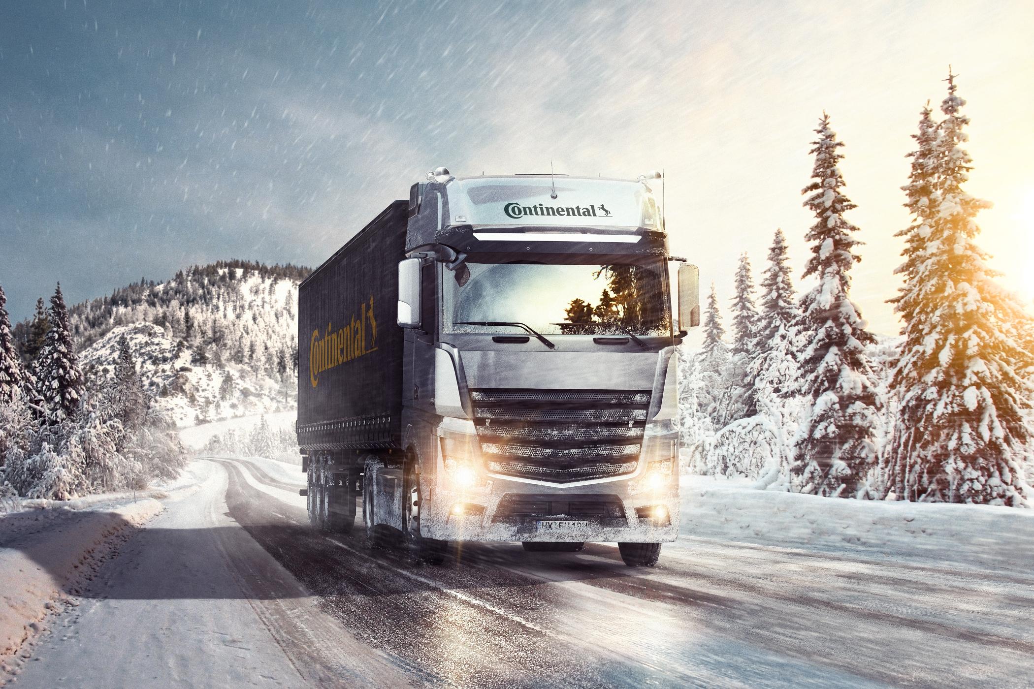 Третє покоління вантажних шин сімейства Conti Scandinavia від Continental