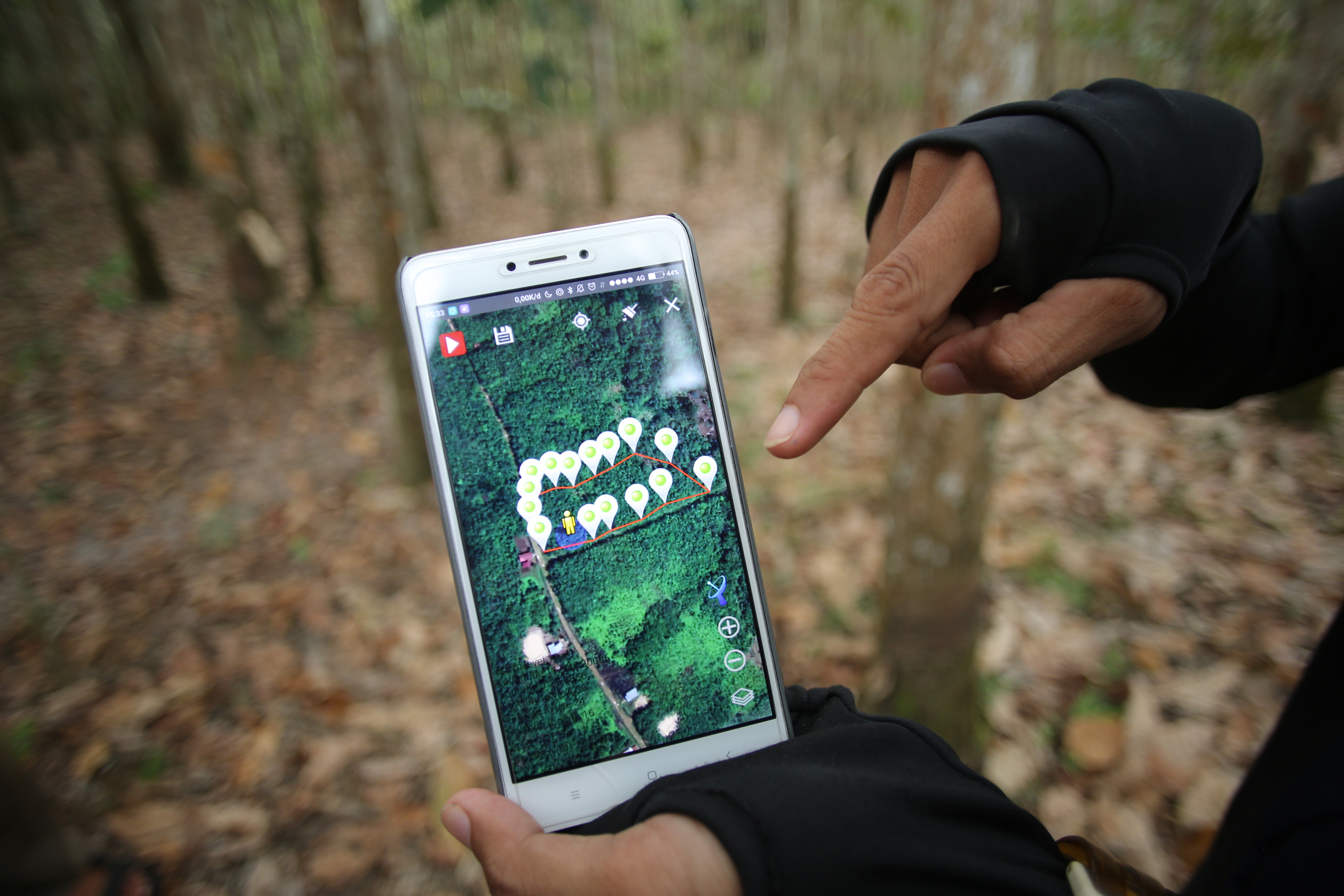 Digitisation of the entire supply chain enables full traceability of natural rubber.