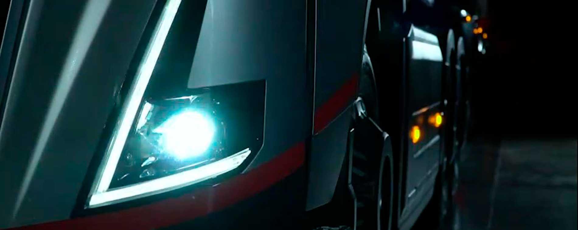 (frente do caminhão conceito da Volvo)