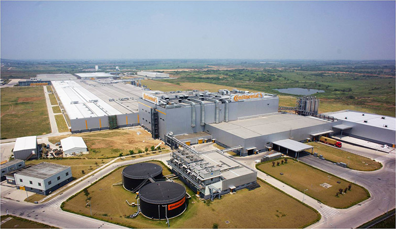 Continental PLT plant in Hefei, China