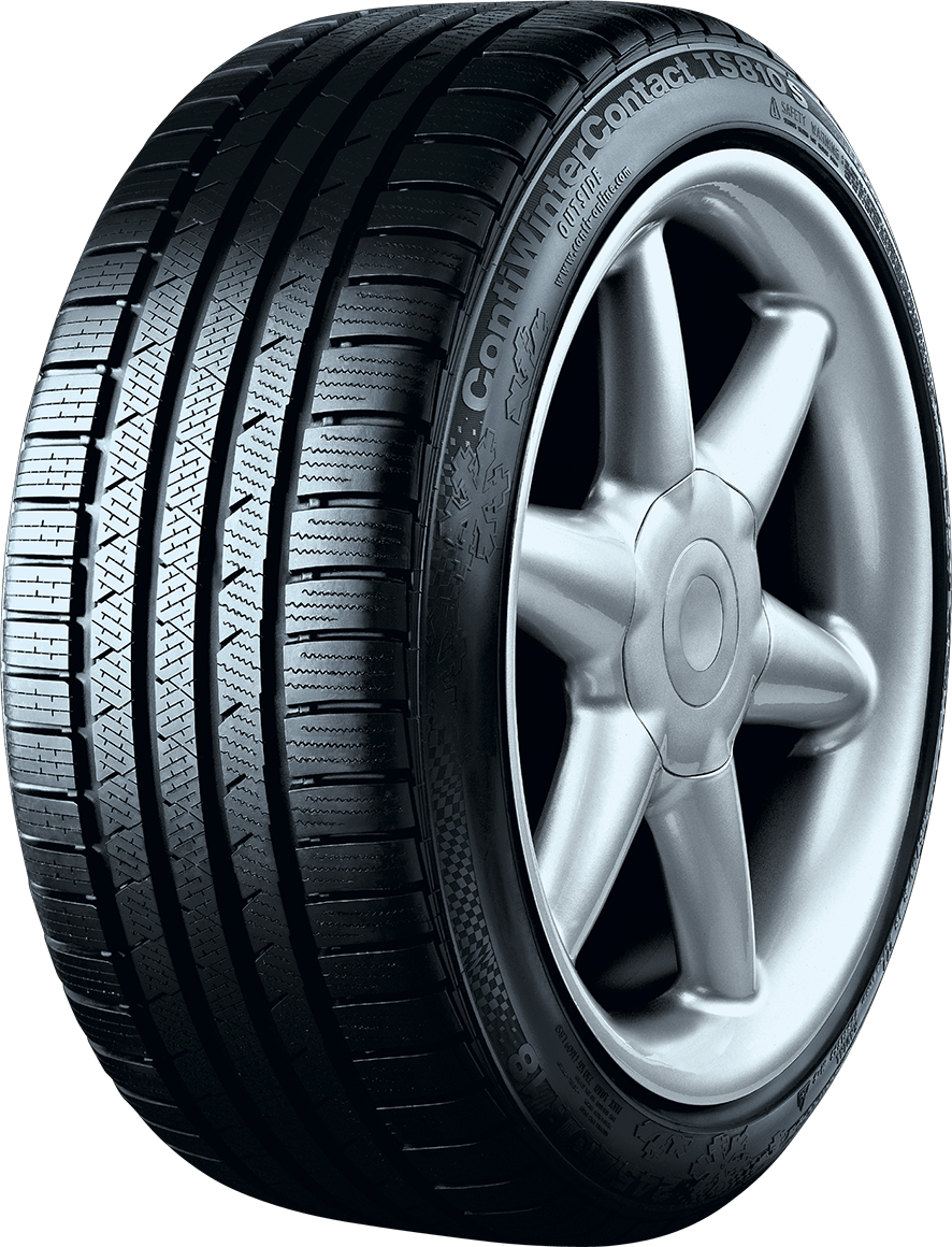 2 New 285 40 19 Continental Conti Winter Contact TS810S Snow Tires
