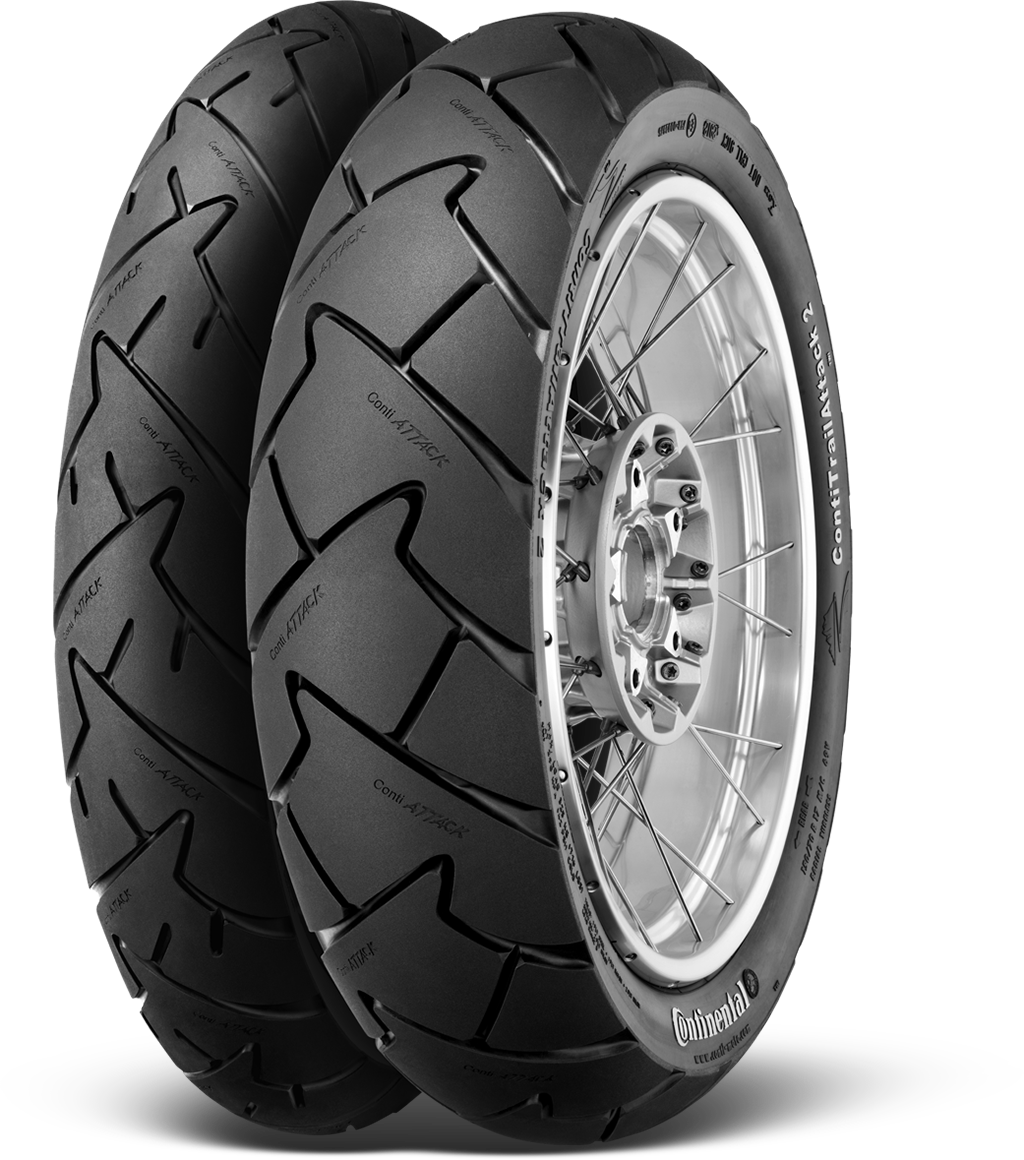 Continental Motorcycle Tires Contitrailattack 2