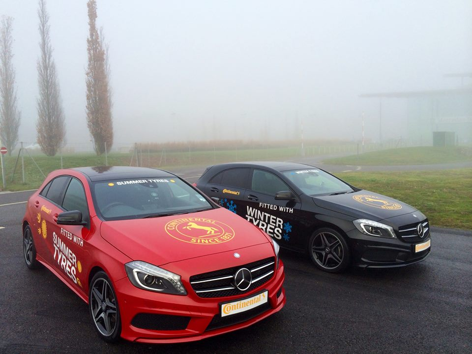 Continental Tyres partners with Mercedes Benz World