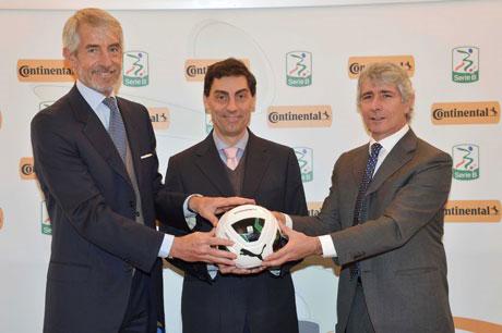Continental Italia sponsor della Lega Serie B